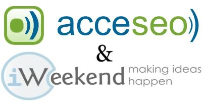 Acceseo & iWeekend