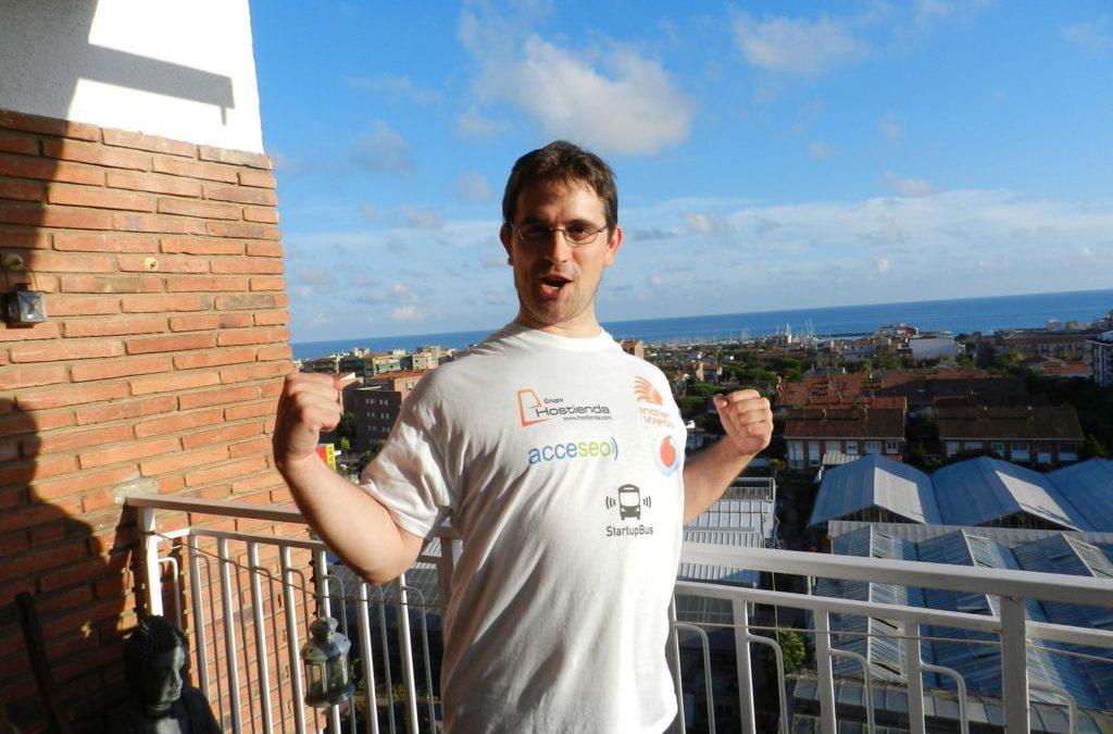 Startup Bus 2013 y nuestro patrocinado Jordi Cor