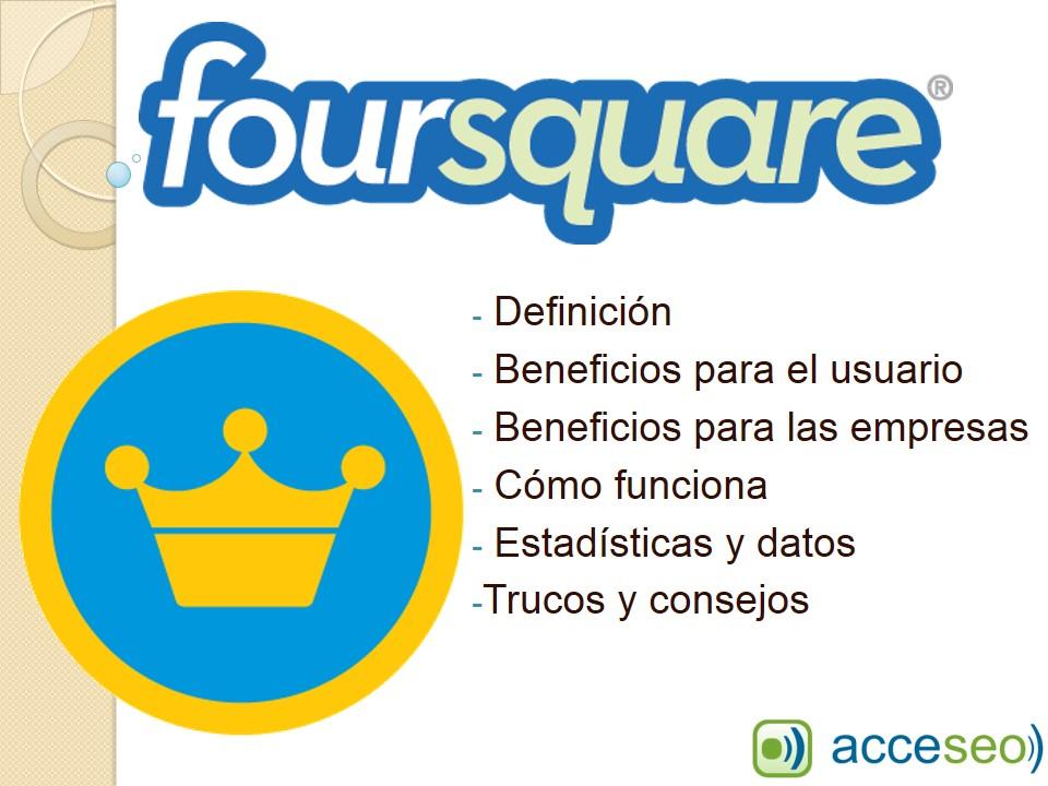 Presentación Beneficios de Foursquare