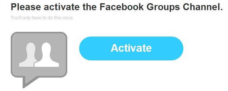 IFTTT Grupos Facebook