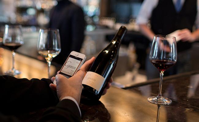 Drync, una APP de iOS para identificar vinos al instante