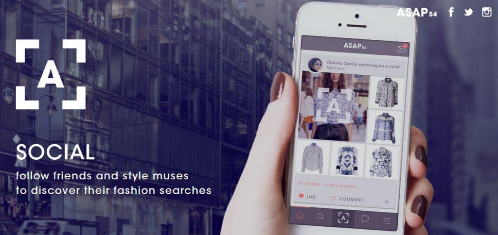 ASAP54, Encuentra ropa de tu estilo con una fotografía