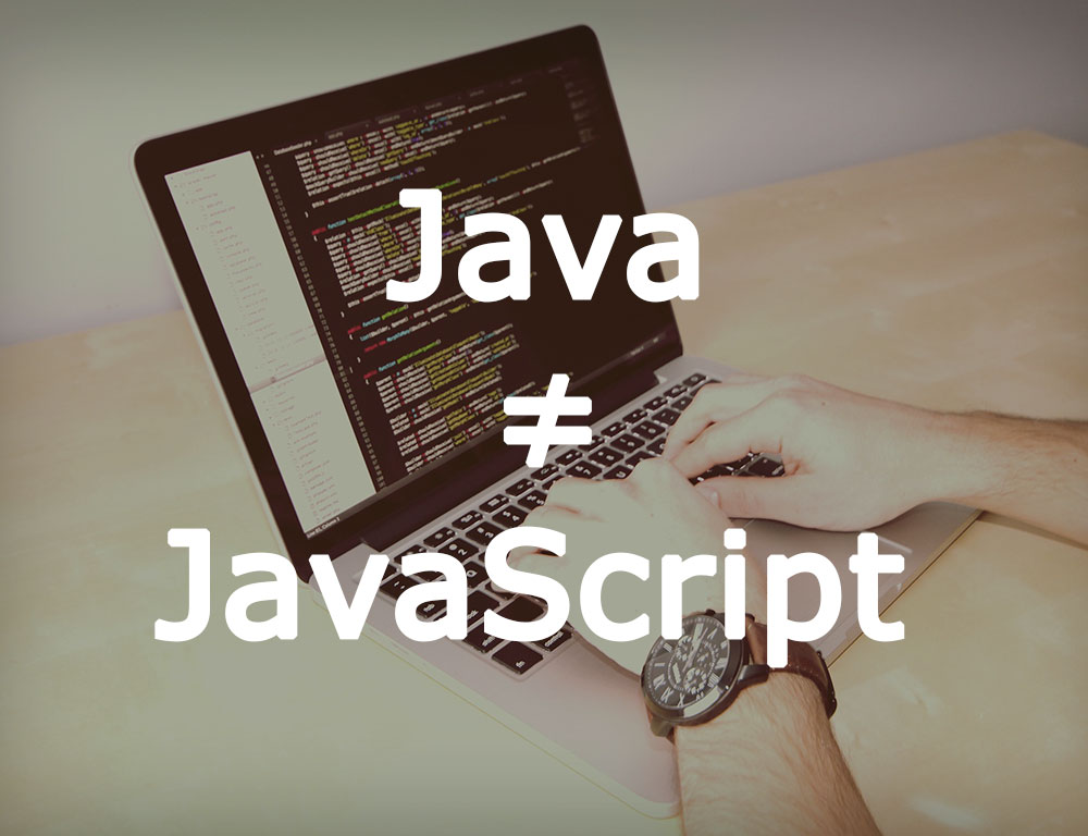 Diferencia entre Java y JavaScript Java-%E2%89%A0-javascript