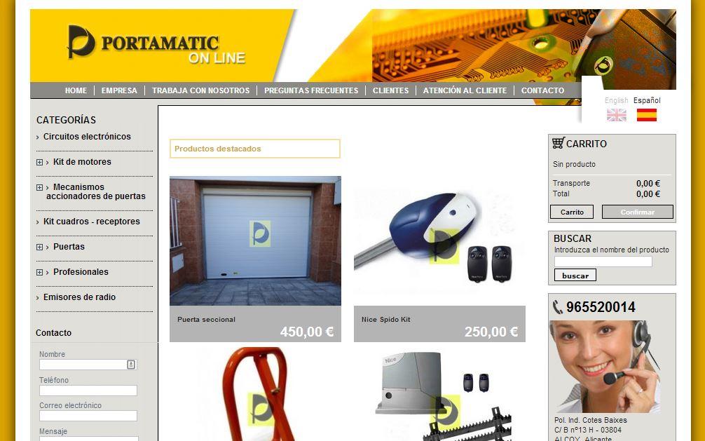 Portamatic Online