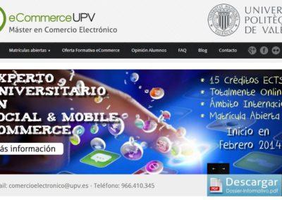 Máster Comercio Electrónico UPV