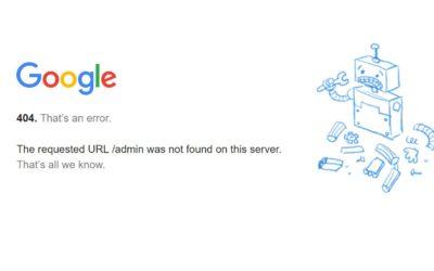 Como solucionar los Errores 404 de nuestra página web