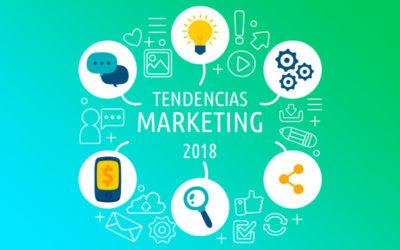 6 nuevas tendencias Marketing online para 2018