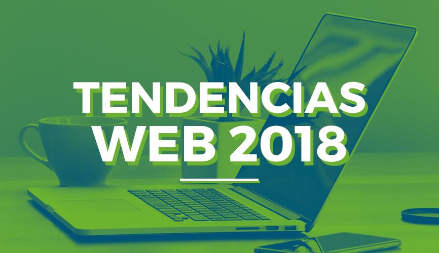 Tendencias de diseño web para 2018