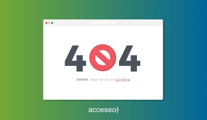 Errores 404: Guía completa para solucionarlos