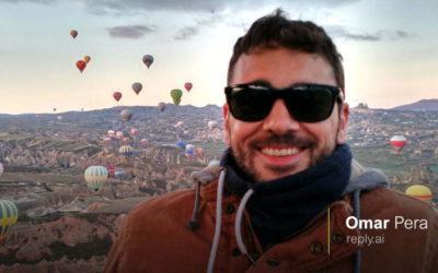 #accePreneur 8: Omar Pera, mejorando la atención al cliente a través de la inteligencia artificial