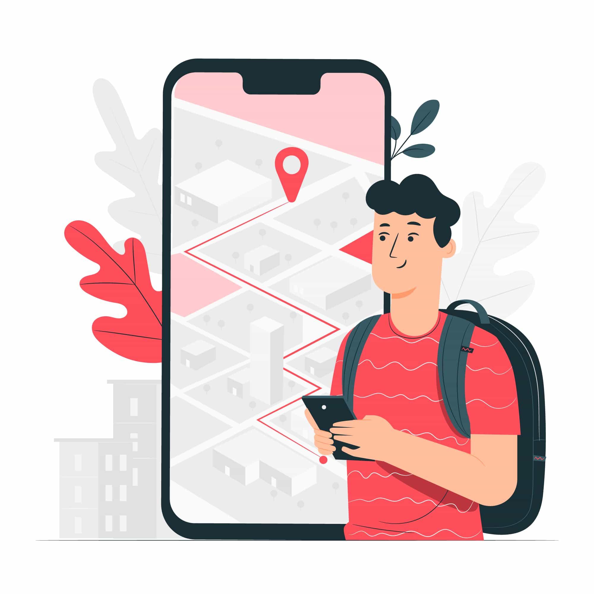 Ilustracion google maps